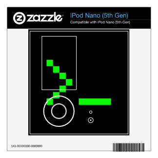 Old School Computer Text Input Prompt iPod Nano 5G Decals