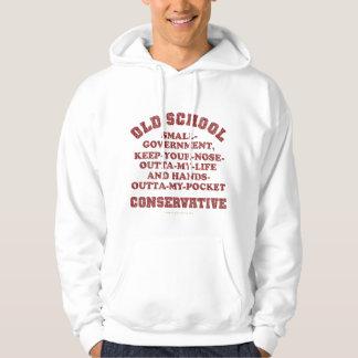 Old School Conservative Hoodie