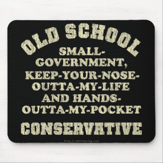 Old School Conservative Mouse Mat