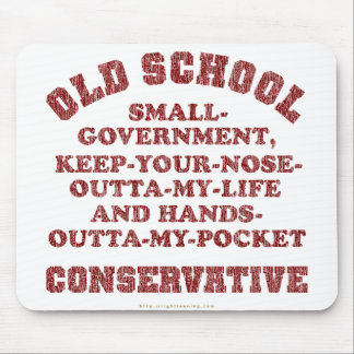 Old School Conservative Mouse Mats