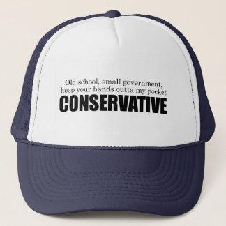 Old School Conservative Trucker Hat