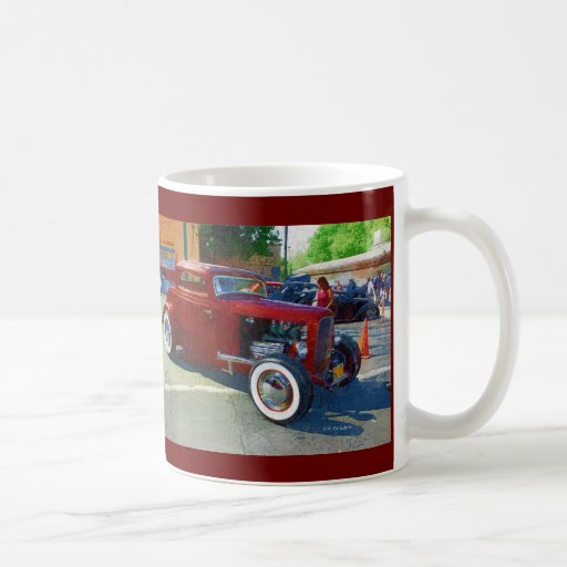 Old school cool classic white coffee mug zazzle for Where to buy cool coffee mugs