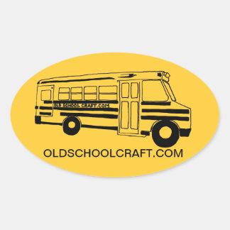 OLD SCHOOL CRAFT STICKERS