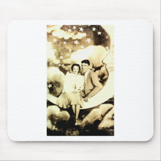 Old School Dance Picture Mouse Pad
