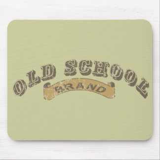Old School - distressed Mouse Pad