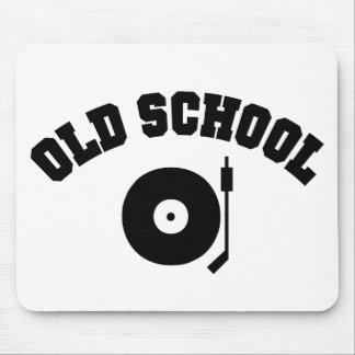 Old School DJ Record Player Mousepad