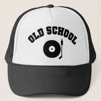 Old School DJ Record Player Trucker Hat