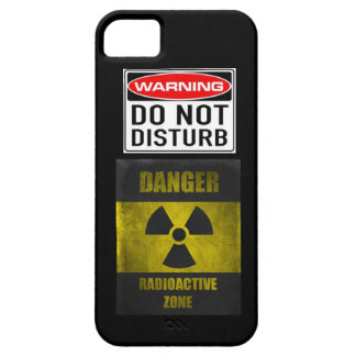 Old School Don't Disturb Radioactive iPhone 5 Skin iPhone SE/5/5s Case