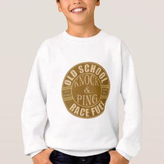 old school drag race fuel sweatshirt