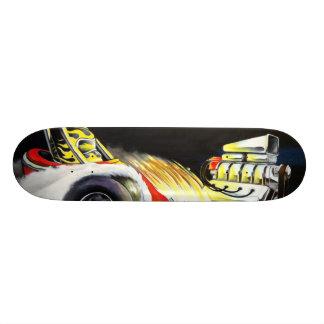 Old School Dragster Skateboard Deck