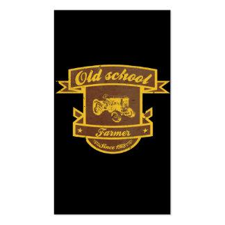 Old school farmer business card