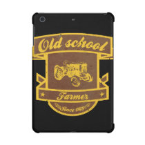 Old school farmer iPad mini case