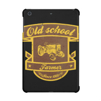 Old school farmer iPad mini retina case