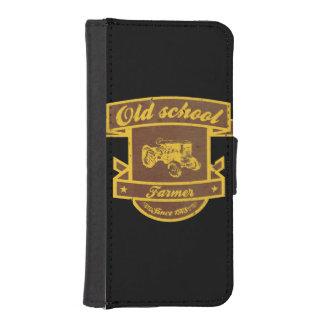 Old school farmer iPhone SE/5/5s wallet