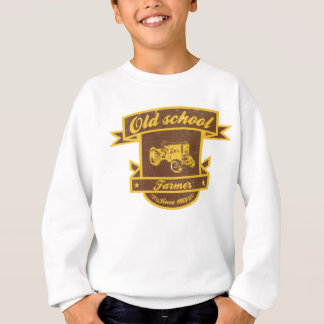 Old school farmer sweatshirt