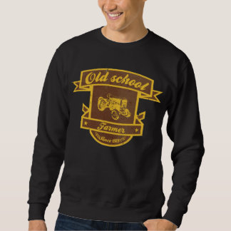 Old school farmer sweatshirt