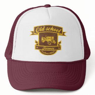 Old school farmer trucker hat