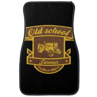 Old school farmer floor mat