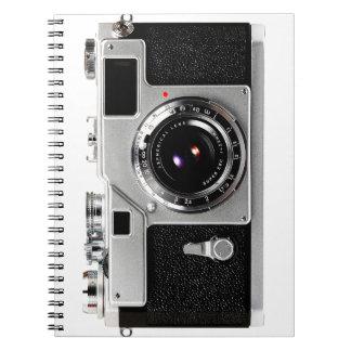 Old School Film Camera Notebook