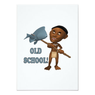 Old School Fishing 3 Card