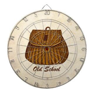 Old School Fishing Creel Dartboards