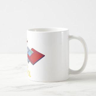 old school floppy coffee mug