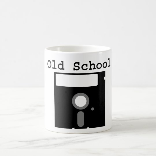 """Old SChool Floppy"" Cup/Mug Coffee Mug"