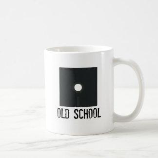 Old School Floppy Disk Classic White Coffee Mug