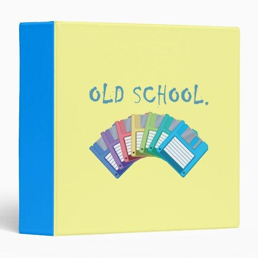 Old school floppy disks binder zazzle - Uses for old floppy disks ...