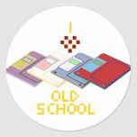 old school floppy stickers