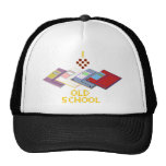 old school floppy trucker hat