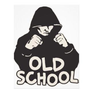 Old School Flyer