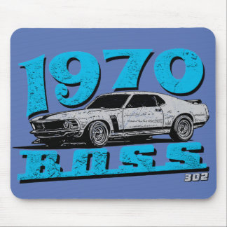 Old school Ford muscle car Mouse Pad