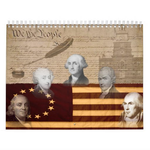 OLD SCHOOL FOUNDING FATHERS CALENDARS