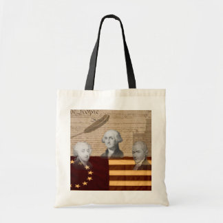 OLD SCHOOL FOUNDING FATHERS TOTE BAG