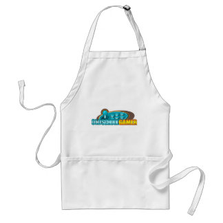 Old School Gamer Arcade Stick Buttons Adult Apron