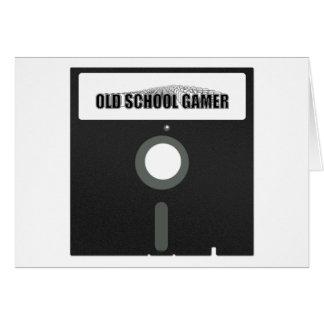 Old School Gamer Card