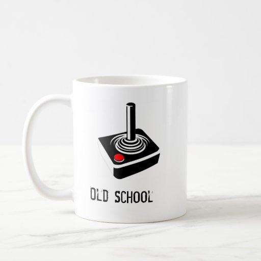 Old School Gamer Classic White Coffee Mug