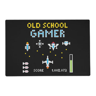 Old School Gamer Placemat