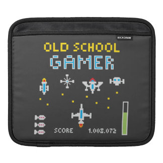 Old School Gamer - Rickshaw Sleeve Sleeves For iPads