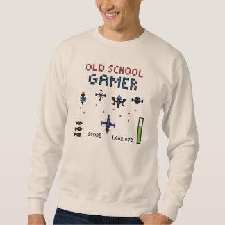 Old School Gamer - Spaceship - Sweatshirt