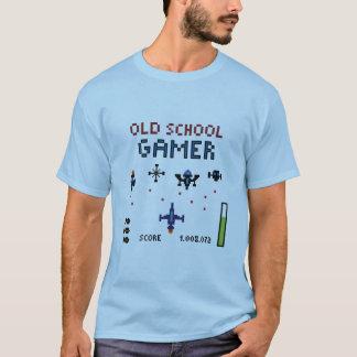 Old School Gamer - Starship - T-Shirt
