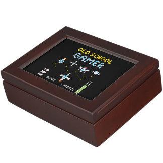 Old School Gamer - Stellarship - Keepsake Keepsake Box