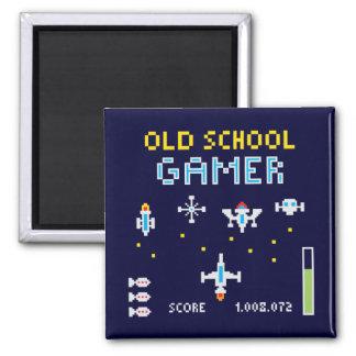 Old School Gamer - Stellarship - Magnet