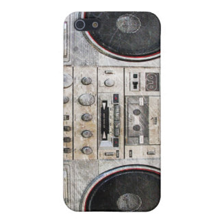 Old school ghetto blaster cover for iPhone 5