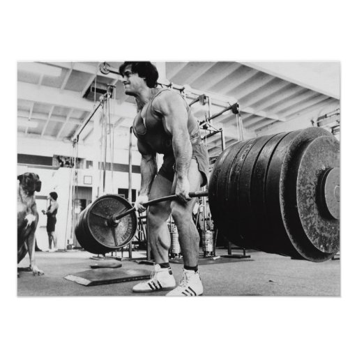 Old School - Golden Era - Bodybuilding Gym Poster