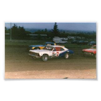 Old school Gregg Racing Photo Print