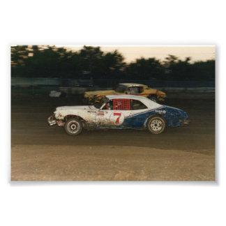 Old school Gregg Racing Photographic Print