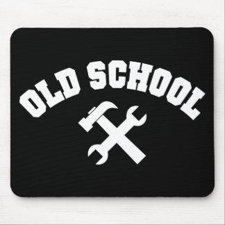 Old School Handyman - Home Repair Tools Craftsman Mouse Pad