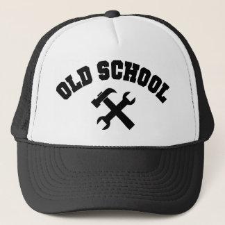 Old School Handyman - Home Repair Tools Craftsman Trucker Hat